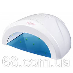 УФ лампа для нігтів Sun 1 CCFL LED 48W сушарка сенсор гель лак Біла