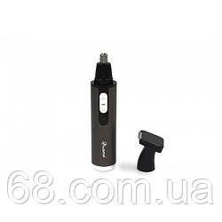 Тример універсальний Gemei GM-3112 2 в 1 бритва для носа і вух