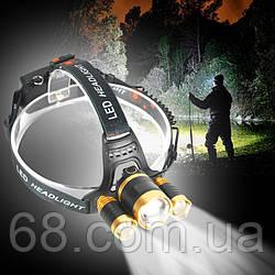 Налобный фонарик RJ3000-T6 p