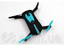 Селфи дрон портативний JY018 складаний Mini для селфи Квадрокоптер