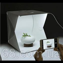 Світловий Лайт бокс з 2x LED підсвічуванням для предметної макрозйомки 30 х 30 см