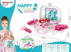 Детский чемоданчик  HAPPY DOCTOR  13 деталей / набор доктора