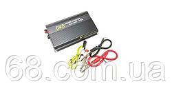 Професійний інвертор перетворювач UKC 12V-220V RCP-1000W + USB Black (4144)