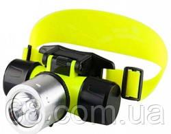 Налобный фонарик для дайвинга Bailong BL-56 p