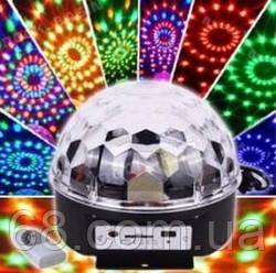 Magic ball music Диско куля Bluetooth з MP3 плеєром