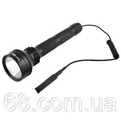 Підствольний ліхтар Policee Q2808-T6, під рушницю, винос.кнопка, 2x18650, ЗУ 220V