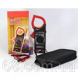 Цифровий Мультиметр DT 266 Струмові кліщі мультитестер тестер
