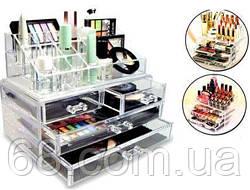 Настільний ящик органайзер для зберігання косметики GUT Storage Box