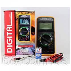 Цифровий професійний тестер мультиметр DT-9208A