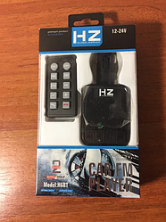Автомобільний трансмітер Fm модулятор H86BT з гучним зв'язком Bluetooth, MP3