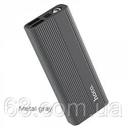 Внешний аккумулятор Hoco J54 10000 Mah батарея зарядка Тёмно-серый