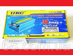 Зарядное устройство для автомобиля 12 вольт 30 ампер, UKC Battery Charger 30A p
