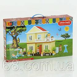 Вилла  Счастливая семья  1514 (12) 2 этажа, свет, без мебели и кукол, в коробке