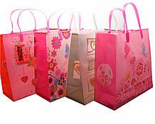 Пакеты подарочные в ассортименте 12 шт./упаковка