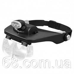 Бинокуляр окуляри бінокулярні зі світлодіодним підсвічуванням MG81001-Е