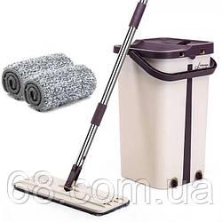 Швабра с отжимом Scratch Cleaning Mop большое p
