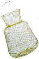 Садок рибальський металевий круглий 45см діаметр