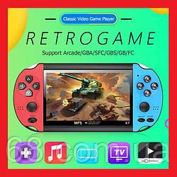 """Приставка PSP X7 4.3"""" MP5 8Gb 3000 ігор (copy)"""