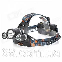 Налобний ліхтар Bailong/Wimpex Police RJ-3000-T6 ліхтарик