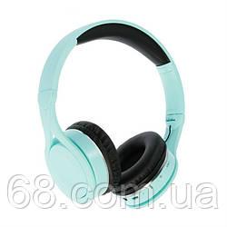 Беспроводные накладные Bluetooth наушники Gorsun GS-E90 Бирюзовый