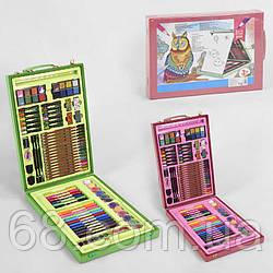 Набір для творчості З 45277 (10) 2 види, 102 предмета, дерев'яну валізу