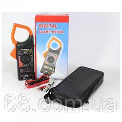Цифровий Мультиметр DT 266FT Струмові кліщі мультитестер тестер