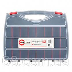 Органайзер пластиковый, 19  480x380x80 мм INTERTOOL BX-4003
