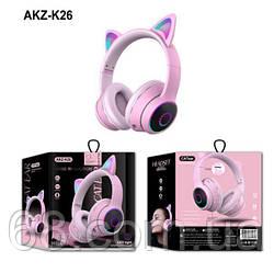 Бездротові Bluetooth-навушники з вушками AKZ-К26