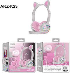 Бездротові навушники Cat Ear з милими котячими вушками