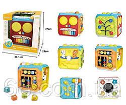Музичний Куб 63601 (8) світло, звук, англійська озвучка, в коробці