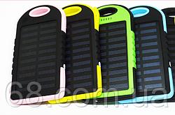 Сонячне зарядний пристрій Power Bank 20000 mAh