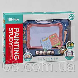 Дощечка 648 A-65 (12/2) світло, звук, англійською мовою, сенсорна панель, піаніно, на батарейках в коробці