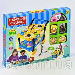 Ігровий набір Солодощі 36778-86 (24) з сервировочным столиком, продукти на липучках, в коробці