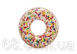 Надувний круг Пончик Intex 56263