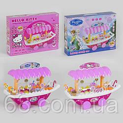 Ігровий набір Магазин солодощів 901-560/562 (18) 2 види, світло, звук, на батарейці, в коробці