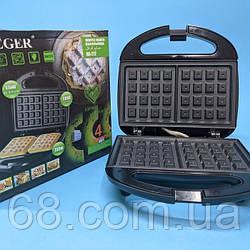 Вафельница электрическая  HAEGER HG-212, 750 вт