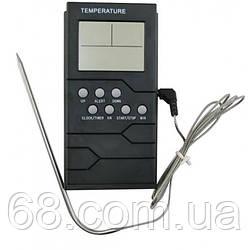 Цифровой термометр TP-800 для духовки (печи) с выносным щупом до 300°С