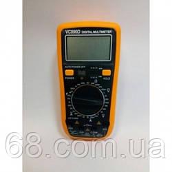 Цифровий Професійний мультиметр VC890D тестер вольтметр