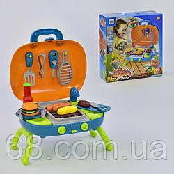 Игровой набор доктора  660-45 (12)  с тележкой, звуковые и световые эффекты, в коробке