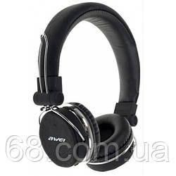 Bluetooth стерео наушники накладные AWEI A700BL Чёрные