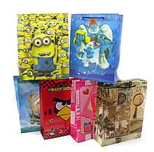 Пакеты подарочные детские 12 шт./упаковка