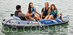 Надувний човен Excursion 4 Set Intex 68324