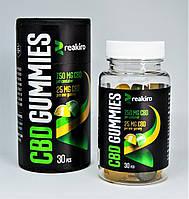 Желейные конфеты КБД CBD Gummies Reakiro Medic 750 мг 30 шт Apple & Lemon