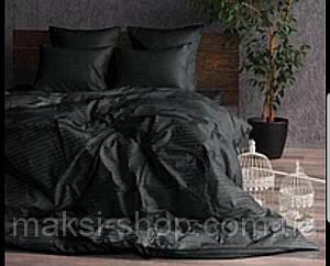 Двуспальный комплект постельного белья страйп-сатин Bona Vita T-0280