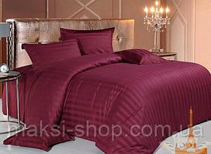Двуспальный комплект постельного белья страйп-сатин Bona VitaT-0279