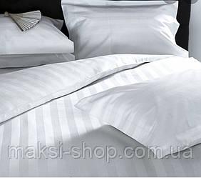 Двуспальный комплект постельного белья страйп-сатин Bona Vita T-0278