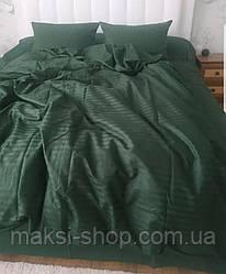 Двуспальный комплект постельного белья страйп-сатин Bona Vita  T-0277