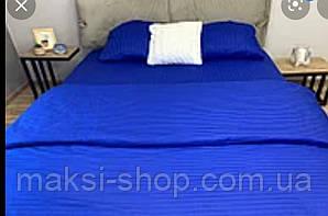 Двуспальный комплект постельного белья страйп-сатин Bona Vita  T-0276