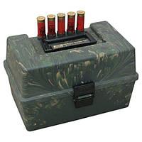 Коробка пластмассовая MTM SF-100 на 100 патронов кал. 12/76. Цвет – камуфляж.