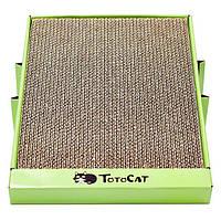 Кігтеточка дряпка лежанка з картону для кішок Avko ACS012 царапка, точилка картонна